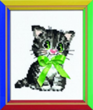 Riolis Cross Stitch Kit. LITTLE BOW.